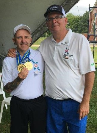 Special Olympics national games 2018 Antigonish with Phil