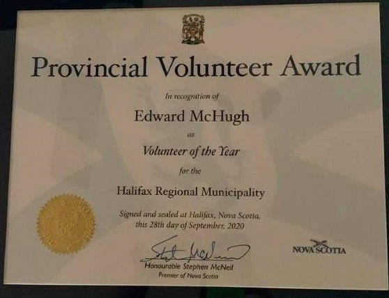 provincial volunteer recognition fall 2020